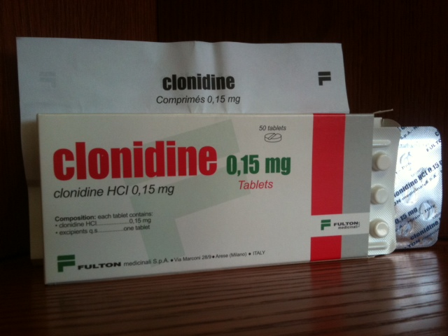 clonidine and ambien