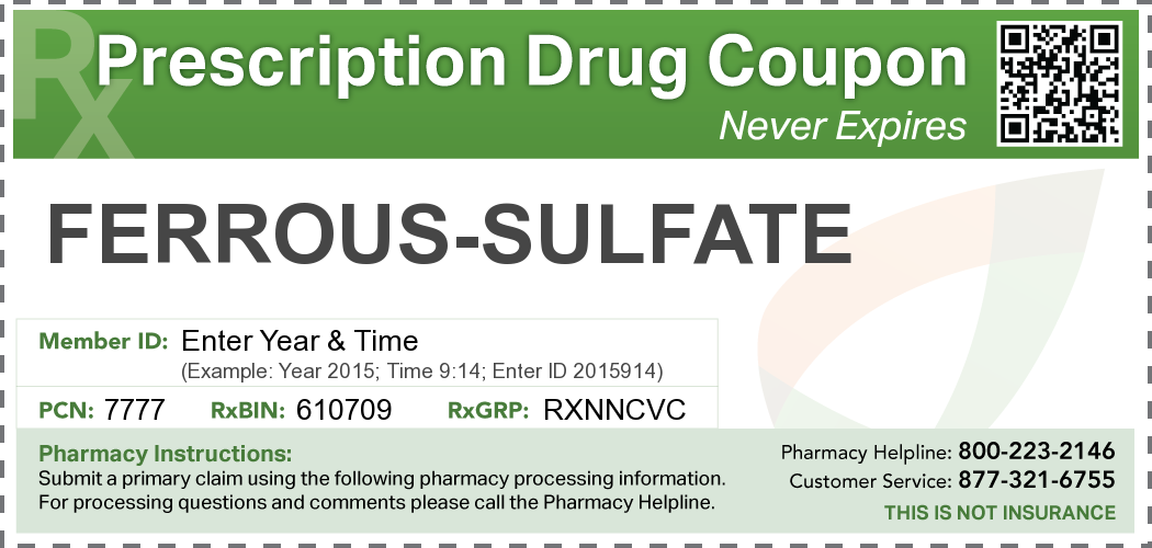 Ferrous Sulfate Side Effects Before Taking Overdose