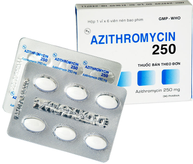 Azithromycin for oral suspension 200mg/5ml 30ml bottle