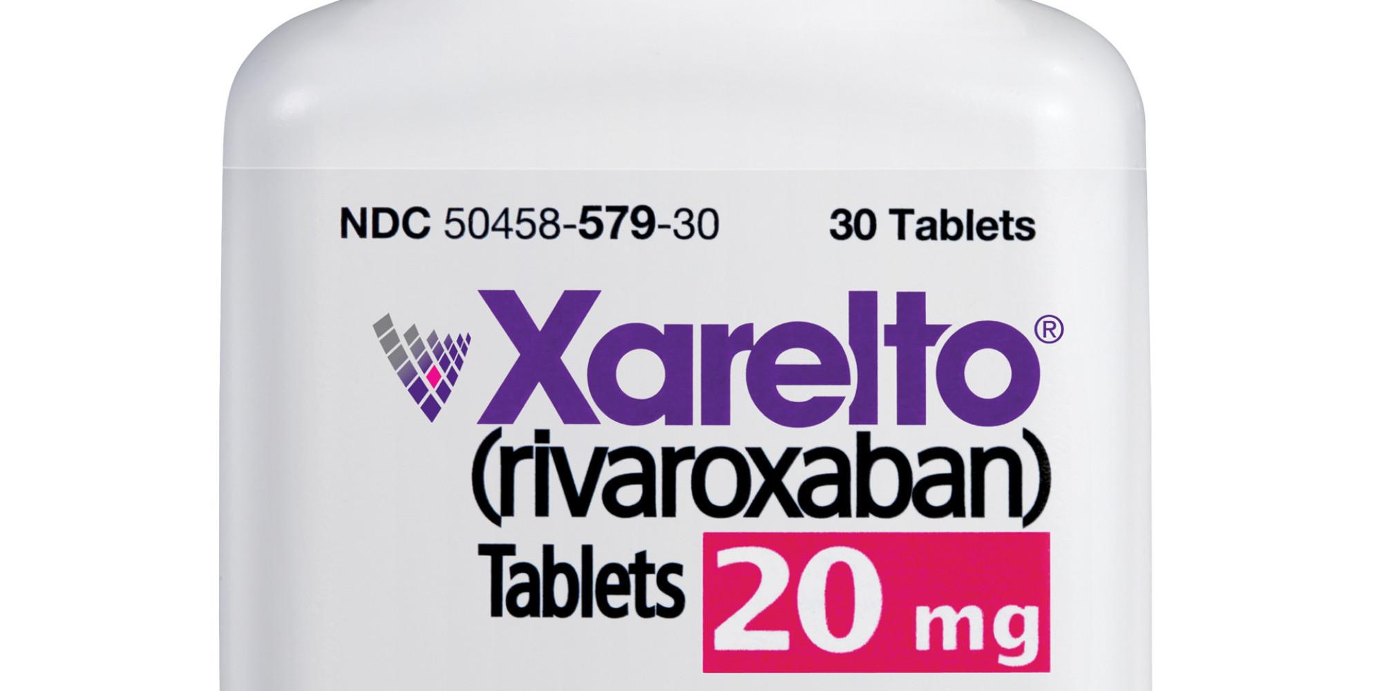 common side effects of xarelto  rivaroxaban