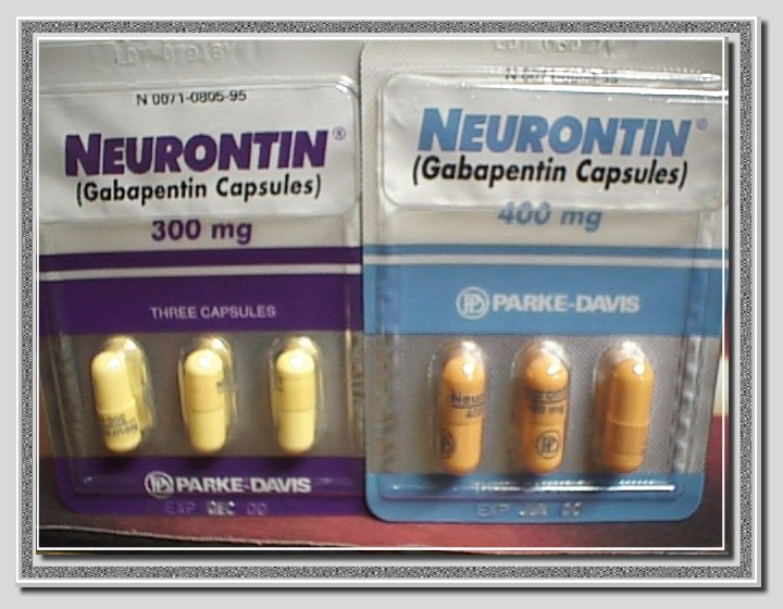 Neurontin Side Effects Tables